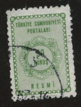 TURKEY Scott o93 Used official