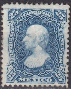 Mexico #109d  Unused CV $35.00 (A18750)