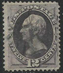 US Scott #151 Fine Used 12c Banknote Stamp CV $220