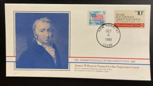 US #2278,1544 On Cover - Bicentennial of Constitution 1787-1987 [BIC76]