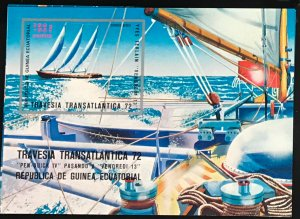 Equatorial Guinea #MiBl54 MNH S/S CV€7.50 Transatlantic Regatta