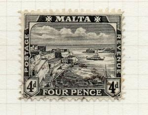 Malta 1914-22 Early Issue Fine Used 4d. 321511