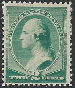 Scott #213, Unused, Original Gum, 1881-8 Re-Engraged Amer...