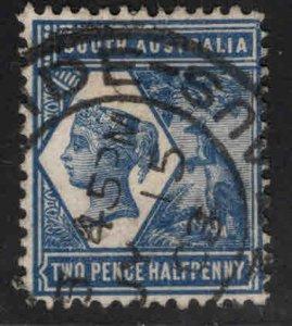 South Australia Scott 117 Used perf 13, 1899