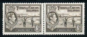 Turks & Caicos Islands #85A Horiz Pair MNH