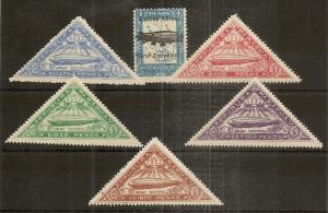 Paraguay 1931-35 Zeppelins Cat£60+ (13v)