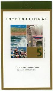 Canada - 2003 $1.25 Tourist Attractions Booklet #BK271b