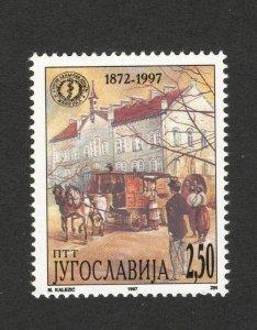 YUGOSLAVIA-MNH STAMP-Serbian Medical Association-HORSE-1997.