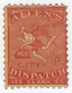 (I.B) US Local Post : Allen's City Dispatch
