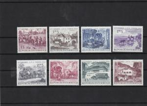 austria 1964 u.p.u congress mnh stamps set ref 7143