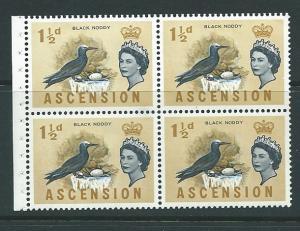Ascension #76 Block of 4 (MLH)    CV $8.00