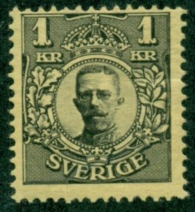 SWEDEN #72, Mint Hinged, Scott $95.00