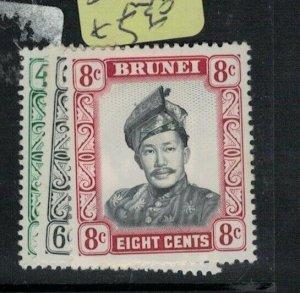 Brunei SG 121-3 MNH (4exv)