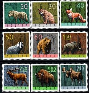 Poland #1369-77 MNH CV $4.20  (X1358)