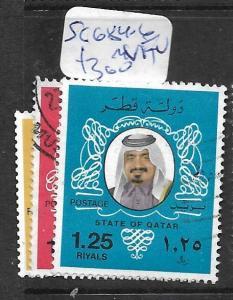 QATAR (P1102B) SHEIKH SG 684-6  VFU