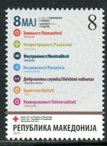 198 - MACEDONIA 2015 - Red Cross - MNH Set
