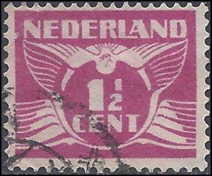 Netherlands #166 1928 Used
