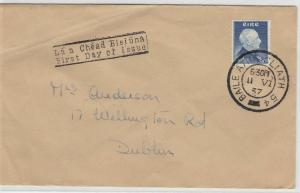 Ireland 1957 First Day Stamp Cover Ref: R4444