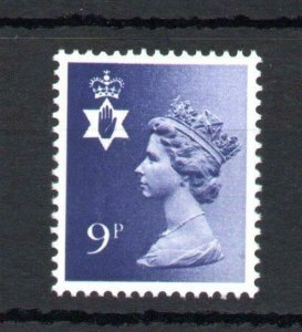 9p NORTHERN IRELAND REGIONAL UNMOUNTED MINT WITH PHOSPHOR OMITTED Cat £25