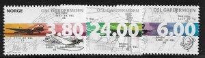 12491 Norway 1203 - 1205 mnh 2017 SCV $15.00