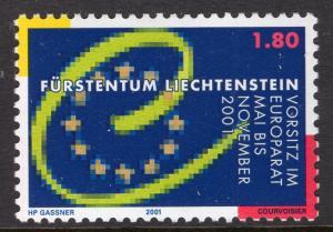 Liechtenstein 1200 MNH VF
