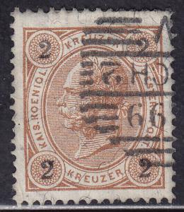 Austria 52 Franz Josef 1890
