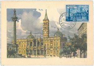 ARCHITECTURE : MAXIMUM CARD - VATICANO 1956