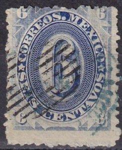 Mexico #149A  F-VF Used  CV $6.00  (Z6260)