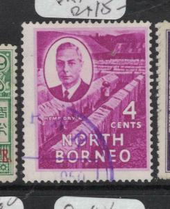 North Borneo SG 359 Papar Cancel VFU (4dvp)