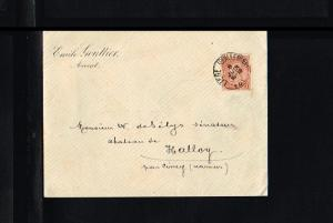 1899 - Belgium Cover - From Liege to Ciney [B09_107]