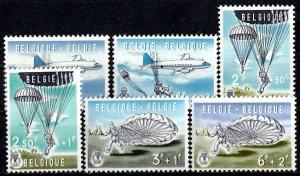 Belgium 1960 Sc. B663-B668  MNH (1349)