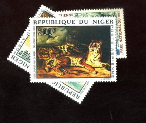 NIGERR #C14 C215-6 MINT VF OG LH Cat $25
