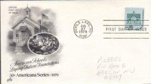1979, American Schools, Artcraft, FDC (D14981)