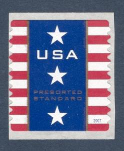 4157 Patriotic Banner Presorted US Single Mint/nh FREE SHIPPING
