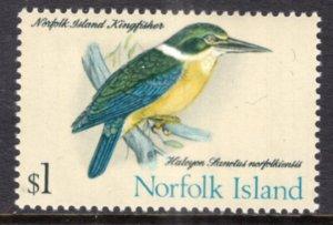 Norfolk Island 140 Bird MNH VF