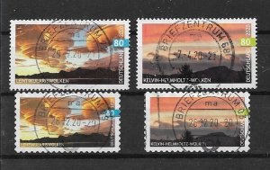 Germany recent 2020 used VFU Set Kevin Helmholtz Lentikularis