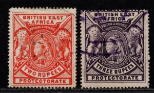 $British East Africa Sc#103-04 used, F-VF, part set, Cv. $340