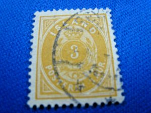 ICELAND  -  SCOTT #22  -  USED    (ddwwi1)