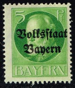 Germany-Bavaria #137 King Ludwig III; Unused (0.25)