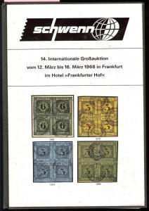 Schewnn: Sale # 14  -  Schwenn 14. Internationale GroB-Au...
