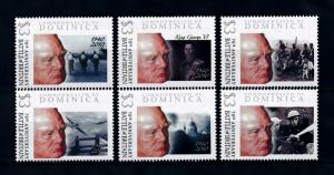 [76366] Dominica 2009 World War II Battle of Britain Churchill  MNH