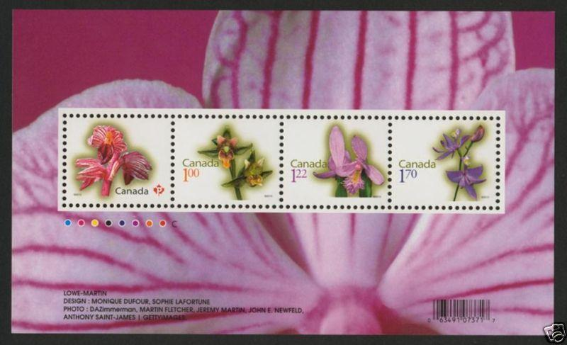 Canada 2356 MNH Flowers