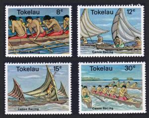 Tokelau Island MNH 65-8 Canoes SCV 2.70