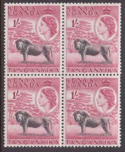 Kenya,Uganda,Tanz.  #112  MNH (4) (1954)  c.v. $15.00