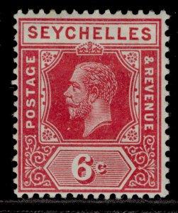 SEYCHELLES GV SG85a, 6c rose, M MINT. Cat £13.