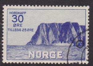 Norway # B 3, Used, 1/2 Cat.