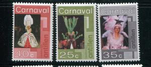 Netherlands Antilles MNH 388-90 Carnival