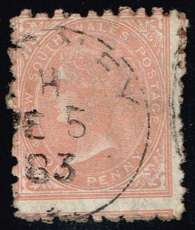 Australia-NSW #61a Queen Victoria; Used (1.25)