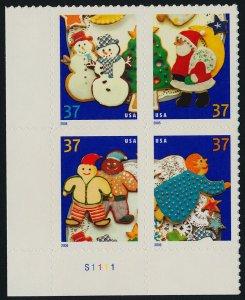 USA 3952a BL Block MNH Christmas Cookies