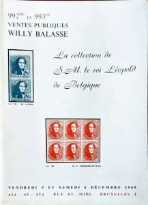 Auction Catalogue La Collection de SM le Roi Léopold de Belgique Classic Belgium